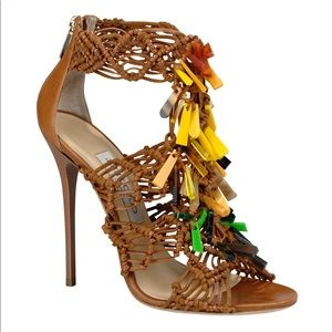 Tribal high heels